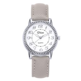 reloj water resistant 2018 - 2018 Top Luxury Ladies Quartz Watch Women Brand Fashion Leather Watches High Quality Women Watches Reloj Mujer cheap rel