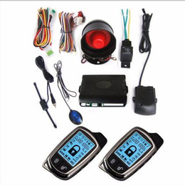 security sensor system NZ - CarBest New Vehicle Security Paging Car Alarm 2 Way LCD Sensor Remote Engine Start System Kit Automatic | Car Burglar Alarm System-02