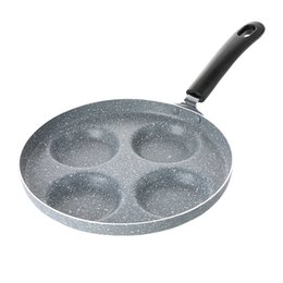 Fried egg molds online shopping - Kitchen Cookware Casting Iron Pan Stone Layer Frying Pot Hamburg Bean Cake Gas Cooker cm Breakfast Fried Egg Molds Kitchen Tools