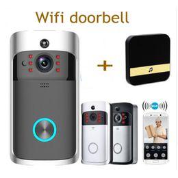Doorbell security online shopping - Smart IP Video Intercom WI FI Video Door Phone Door Bell WIFI Doorbell Camera For Apartments IR Alarm Wireless Security Camera