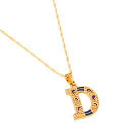 Letter D Pendant UK - Letter D Personalized Jewelry Pendant Necklace Intial Pendant Necklace