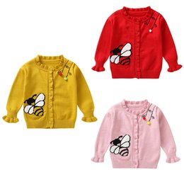 $enCountryForm.capitalKeyWord NZ - Girls Sweaters Children Knitted Cardigan Sweater Autumn Winter Outer Wear 2018 New Children's Clothing Girl Tops 1-5Y