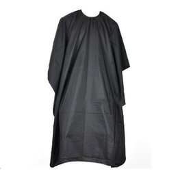 Cloth hair Cutting Capes online shopping - Hair Cutting Hairdressing Cloth Barbers Hairdresser Large Salon Adult Waterproof Cape Gown Wrap Black Hairdresser Cape Gown Wrap