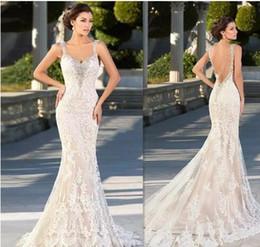 Zuhair Murad Mermaid Wedding Dresses NZ - Zuhair Murad Wedding Dresses 2016 Mermaid Lace Appliques Sweetheart Bridal Gowns Backless Sexy Beaded Gothic Trumpet Dress For Brides