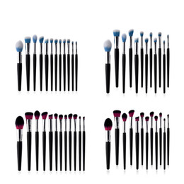 $enCountryForm.capitalKeyWord UK - Zouyesan free shipping 2019 12 makeup brush beauty tools set black bing silver tube flame brush eye shadow brush high-end