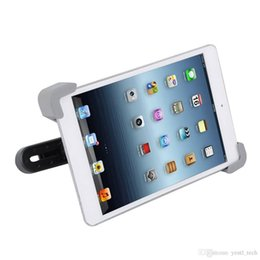 $enCountryForm.capitalKeyWord Australia - Free shipping Holder For 7 inch to 10.1 inch Tablet PC for iPhone Car GPS Smart Car Phone Holder Universal Car Back Seat Headrest Mount