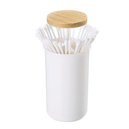 $enCountryForm.capitalKeyWord Australia - Wooden Cover Toothpick Cartridges Simple Press Toothpick Boxes Home Cartridges Creative Cotton Swabs Collection Boxes