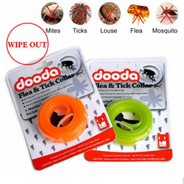 Dog Collars Flea NZ - Adjustable Dog Collar Anti Flea and Tick Pest Lice Plastic Pet Cat Collar Waterproof Non-toxic No Insecticide