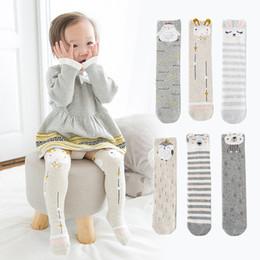 $enCountryForm.capitalKeyWord NZ - Infant Socks for 1-5 years Cotton Socks Baby Cartoon Winter Long Socks Slippers Baby Casual Soft Kids knee High Sock Gift