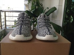 cd3c5aea2 (with box)NEW Original Quality Kanye West 350 Best Shoes Pirate Black  Moonrock Oxford Tan Turtle Dove Casual Outdoor Light Running Shoes