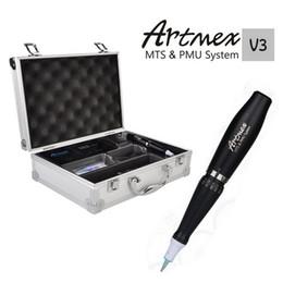 Kits Permanents Artmex V3 Maquillage Permanent Micro-aiguille Sourcils Make upLip Rotatif Tatouage Machine Moteur Électrique Stylo MTS PMU