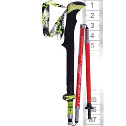 $enCountryForm.capitalKeyWord NZ - Piomeer Outdoor Ultralight Carbon Fiber Folding Short Camping Trekking Hiking Climbing Stick Alpenstock Pole 37-135cm 01026