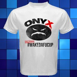 $enCountryForm.capitalKeyWord Canada - Design T Shirt Top O-Neck Short-Sleeve ONYX WAKEDAFUCUP Rap Hip Hop Music White T-Shirt T Shirt For Men