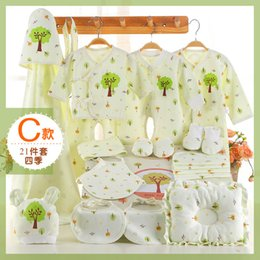 Wholesale Newborn Set Baby Gift box Set Full Moon Cotton Gifts Male and female infants Products boy girl suit Growth months