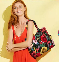 $enCountryForm.capitalKeyWord NZ - VB Cotton Bag Flower Tote bag shoulder bag Women's handbag Genuine US Brand