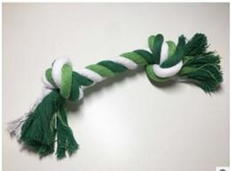 $enCountryForm.capitalKeyWord NZ - Cotton rope knot bone 26cm pet toy dog molar tooth biting and wisdom interaction L600