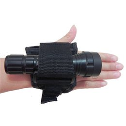 Scuba dive flaShlight online shopping - Durable Hand Free Light Holder Glove Underwater Scuba Diving Outdoor Torch Flashlight Support Arm Mount Strap New yk dd