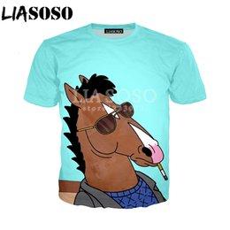 Bojack Horseman smoking art series funny top men grey t shirt woman available
