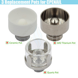 $enCountryForm.capitalKeyWord UK - CPENAIL Replacement Coils Ceramic Quartz GR2 Titanium Pot e cig Nail Glass Pipe Bongs Hookah Portable vaporizer wax Wickless Heating Chamber