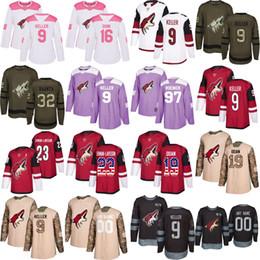 Custom Arizona Coyotes 9 Clayton Keller 23 Oliver Ekman-Larsson 2019 Antti  Raanta 19 Shane Doan 16 Max Domi 97 Jeremy Roenick Hockey Jersey 49cb3224e