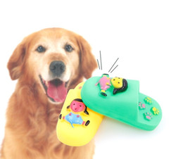 Interactive Sound Toys NZ - Pet Dog Toy Slippers Sounding Toys Puppy Interactive Toys Resistant Bite Pet Accessories Rubber
