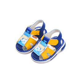 7ecc65ee00b6 Baby Boys Girls Summer Brand Shoes Leather Sandals for Boys First Walkers  Baby Closed Toe Shoes Infant Toddler Boy