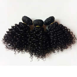 short hair pieces styles NZ - Mongolian Brazilian virgin human Hair weft Short bob Style great quality 8-12inch Kinky curly hair weaves Mink European Indian remy hair