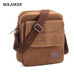 $enCountryForm.capitalKeyWord NZ - Flash Sale 2017 BLD Brand Men Casual Messenger Bag High Quality Canvas Shoulder Bags For men Business Travel Crossbody Bag