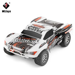 Rc Car Off Road Speed Canada - WLtoys A969-A 1:18 RC Car 4WD 4CH High Speed Remote Control SUV 35KM h Off Road Racing Car 2.4GHz RC Monster Truck