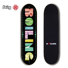 Discount red maple wood - Skateboard Maple Wood Material Freestyle Skateboard complete for adult or children