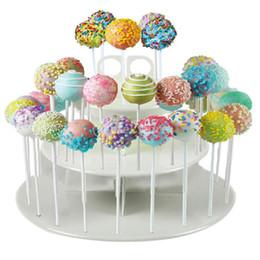 $enCountryForm.capitalKeyWord NZ - Acrylic Round Lollipop Holder Cake Pop Display Stand Christmas Wedding Party DecorRound Cake Pop Display Stand WED7635