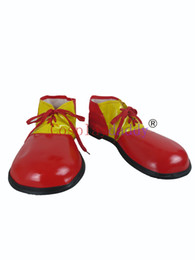 $enCountryForm.capitalKeyWord UK - Clown PVC Shoes Carnival Party Cosplay Shoes 2 Colors S008