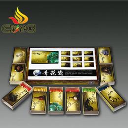 Caja de fósforos de madera del tenedor del fósforo del cigarrillo Coleccionables 10 cajas para 1 sistema que acampa