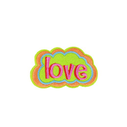 Love patches online shopping - 10 Love Captions Embroidered Patches for Clothing Iron on Transfer Applique Patch for Dress Bags DIY Sew on Embroidery Badge