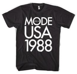 Não oficial projetou Depeche Mode 1988 EUA Tour Unisex T-shirt todos os tamanhos venda por atacado