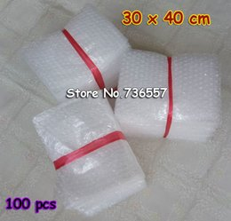 $enCountryForm.capitalKeyWord Canada - 30*40cm 100pcs New Bubble Envelopes Wrap Bags  anti-static Pouches  white color PE Mailer Packing bag Free Shipping