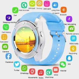 Bluetooth Smart Watch Sim Australia - ALLCACA Smart Watch Bluetooth Smartwatch with Camera Touch Screen SIM Card Slot, Waterproof Phones Smart Wrist Watch Sports Fitness Compatib