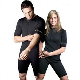 Xl Full Body Suits NZ - neoprene Body Sauna Suit Women Underwear Briefs Slimming Women's Men's Full Body Shaper waist trainer top