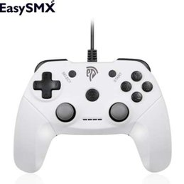 android phone otg NZ - EasySMX EG-C3071 Game Controller Gamepad Joystick Controller with OTG Cable Joypad Gamepad for Android Phone PC Gamers