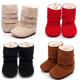 $enCountryForm.capitalKeyWord Australia - Baby Infant Child Boys Girls Warm Snow Boots Fur Winter Toddler Crib Shoes Casual Winter 0-24M Children