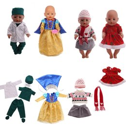 78d3cc9c2d1 Babyborn Doll Clothes And Accessories Fit 18inch American Girl Doll 43cm  Baby Outfits 4 Sets Different Uniforms Best Gift