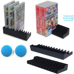 silicone disk 2019 - Game Card Box Storage Stand CD Disk Holder Cradle Bracket Support For Nintendo Nintend Switch NS 2pcs lot W  silicone ca