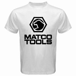$enCountryForm.capitalKeyWord NZ - Matco Professional Hand Tools & Automotive Tools Men's White T-Shirt Size S-3Xl Tees Shirt For Men Plain Short Sleeve Fashion Custom Plus Si