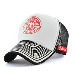 2fd77c6f817 Wholesale New mesh baseball cap summer sun visor Korean print fashion mesh hat  travel cool outdoor casual Nordic beauty cap travel visor on sale