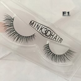 hand made products Australia - False Strip Eyelashes 3D Mink Hair Handmade Custom Box Private Label Hot Sale Wholesale Price Products FDshine