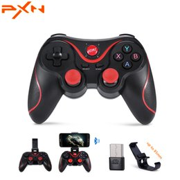 smartphones tablet 2019 - PXN T3 X3 Wireless Bluetooth Gamepad Game Controller Game Pad for iOS Android Smartphones Tablet Windows PC TV Box pk 05