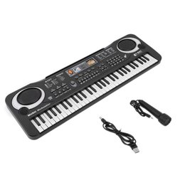 Beginners electronics online shopping - Multifunctional Keys Digital Electronic Keyboard Piano Musical Toy Gifts Mic Records for Children Kids Beginners Education