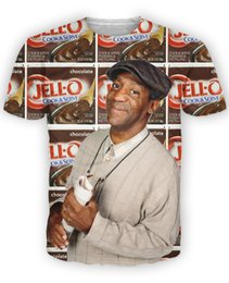 Pop Tees Australia - Bill Cosby T-Shirt classic comedian Cosby Show Little Bill and pudding pops ZIPPIDY t shirt summer style tops tee for women men
