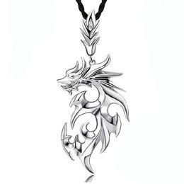 $enCountryForm.capitalKeyWord Canada - 3 pcs New Arrival Necklaces Men Brand Dragon Pendant Necklaces Fashion Jewelry Collares Largos