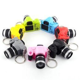 $enCountryForm.capitalKeyWord UK - key chains key rings 7 colors Chains 2017 Newly Cute Mini Toy Camera Charm Keychain With Flash Light&Sound Gift ov27